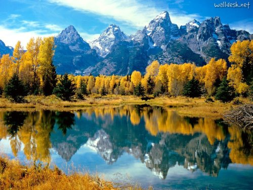 Autumn, Grand Teton National Park, Wyoming