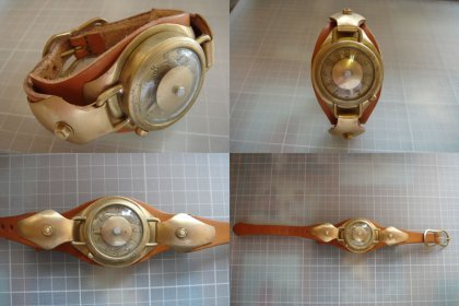 This is a really sleek steampunk watch and it doesn't look too uncomfortable actually compared to most I've seen.