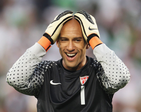 Tim Howard    (African-American/Hungarian) [American]    Known as:  Professional soccer/football player (Goalkeeper for Everton and the US National Team)    More Information: USSoccer.com's Tim Howard profile, Tim Howard's Facebook page, Tim Howard's Wikipedia page    Thanks to kaipai for suggesting today's Daily Multiracial!    If you'd like to suggest someone as a future Daily Multiracial, please let us know!