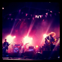 My Morning Jacket killing it at #bonnaroo  (Taken with instagram)