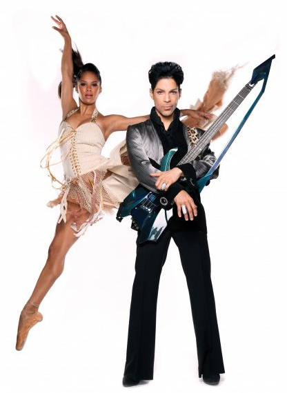 My two favorite things: ballet and Prince!