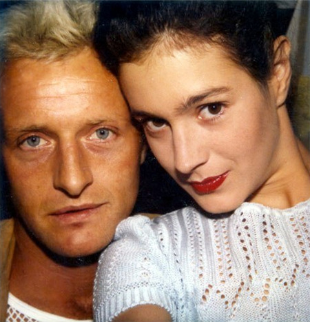 "Sean Young and Rutger Hauer, ""Blade Runner"" polaroid"