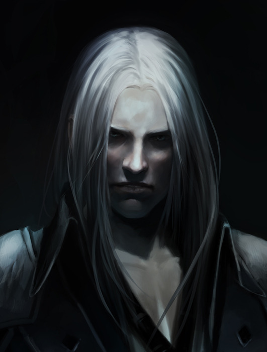 all-about-villains:  Sephiroth - by Anna Tluczykont