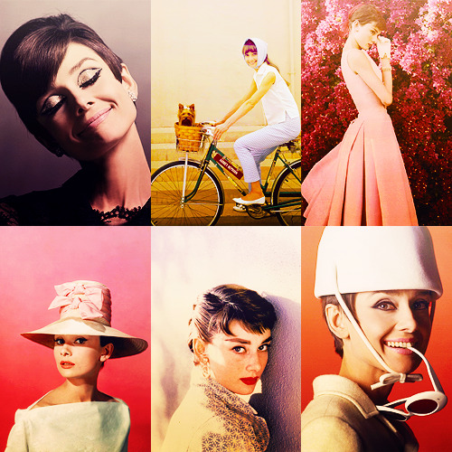 missavagardner:  Six Favorite Audrey Hepburn Pictures | asked by anonymous