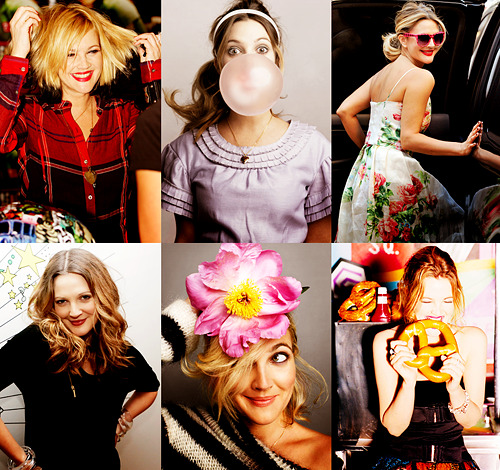 jessiespano:  six favorite pictures → drew barrymore