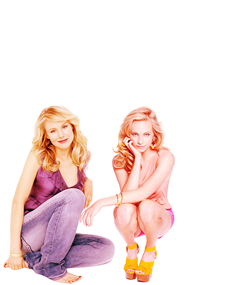 dream—team:  sisters: kristen bell & candice accola