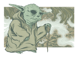 bendrawslife:  bendrawslife:  Yoda on Dagobah. I was always a fan of Yoda from the original trilogy. He was much more endearing. It made way more sense for him to be one with everything/the force, while still having a bit of a sense of humor about it all. But, I'll stop blathering. Enjoy! (?)  I'm reblogging my own drawing, whatever, I do what I want. But really, I posted this at 2am a couple nights ago, and I feel like people missed out on it. (And I really like how it turned out, so I don't like thinking that people missed out on it.)