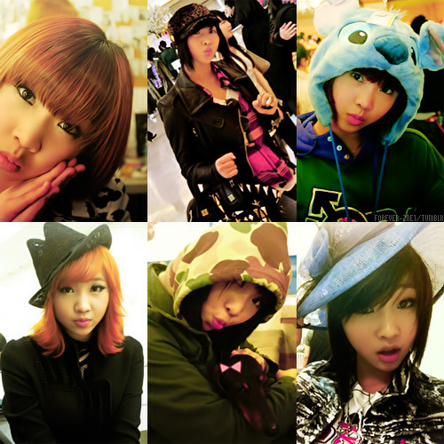 Top 6 Favorite Me2day/Twitter photos: Gong Minzy