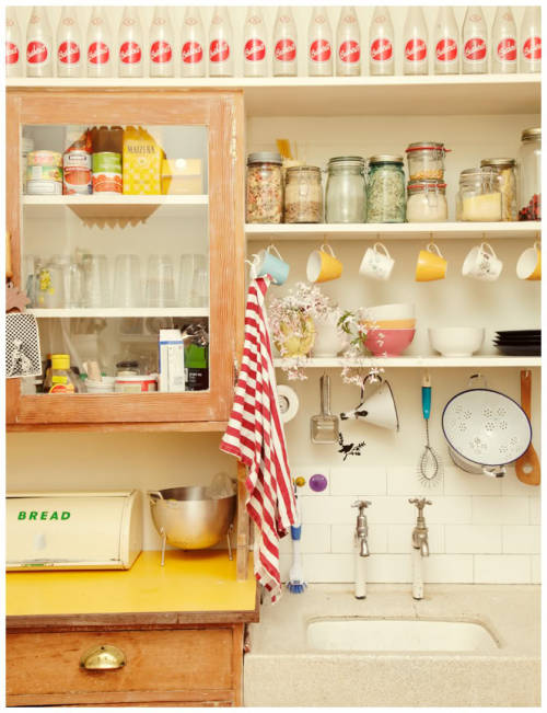 myidealhome:  kitchen storage (via love made me do it…: // Home is Reitz Street)