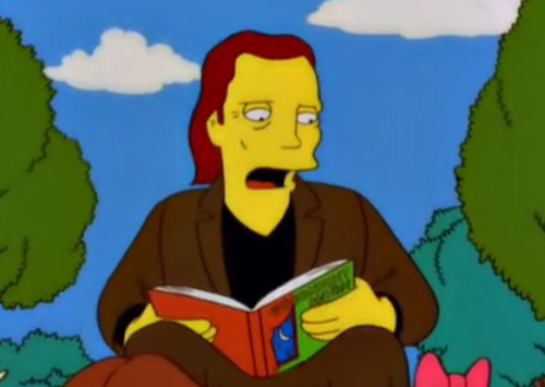 "lisasimpsonbookclub:  Christopher Walken reads ""Goodnight Moon"" to some truly terrified children."