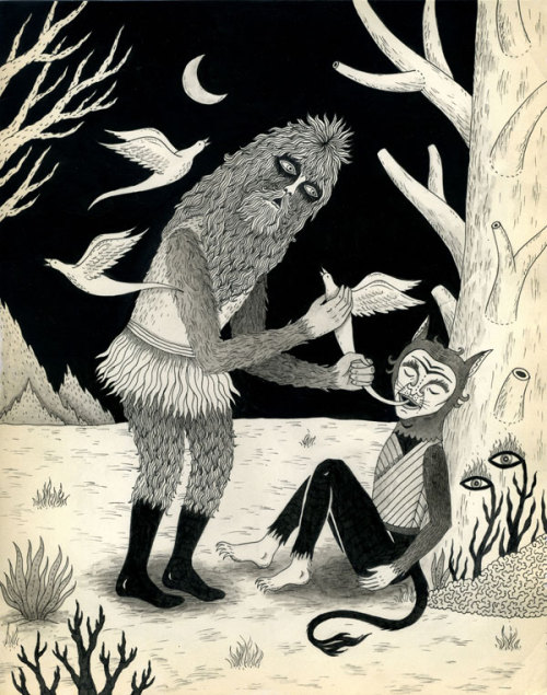 """Thievery in the Woods"" by Jon MacNair"