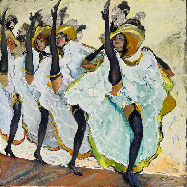 Jean Gabriel Domergue The French Can Can