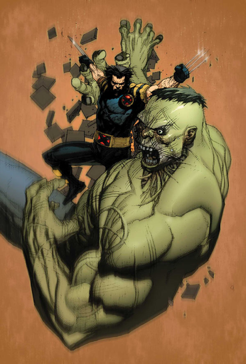 Ultimate Wolverine vs. Hulk // Leinil Yu
