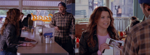 "LORELAI: [Sighs] Hey, Luke.LUKE: I saw you come in. I was gonna get to you, okay?LORELAI: Sorry?LUKE: If you don't like the service, you can go somewhere else.LORELAI: Who could not like the service?LUKE: I'm busy. You ready to order?LORELAI: Coffee for now. Is everything okay?LUKE: You're not gonna eat?LORELAI: No, I just came in for coffee and to show you something. We got the sample stationery and postcards for the inn.LUKE: What?LORELAI: You know, the stationery and the postcards that you leave in the guests' room so that they can write a letter home saying, ""Having a great time- wish you were here."" Which, of course, they don't, because you were the thing they were trying to get away from in this first place.LUKE: Nobody uses that stuff.LORELAI: Oh, sure they do.LUKE: I have never once stayed in a hotel and used the stationery or written a postcard. Are you gonna order?LORELAI: I did order, and what is with you?LUKE: Nothin'. I'm fine. The paper's fine. The postcards are fine. I don't know why you're showing them to me anyhow.LORELAI: Because you are an investor in the inn. I want to keep you apprised of the goings-on.LUKE: I am not an investor. I loaned you money.LORELAI: That is what investors do.LUKE: An investor goes to meetings.LORELAI: We're having a meeting.LUKE: They're involved in the business decisions.LORELAI: Hello…stationary. Decide — yes, no.LUKE: [Sighs] I'll get your coffee."