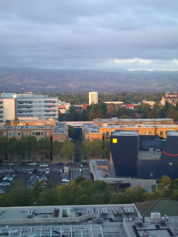 I love this picture. This was the view from the hotel I stayed in when I attended Fanime 2011 in San Jose.