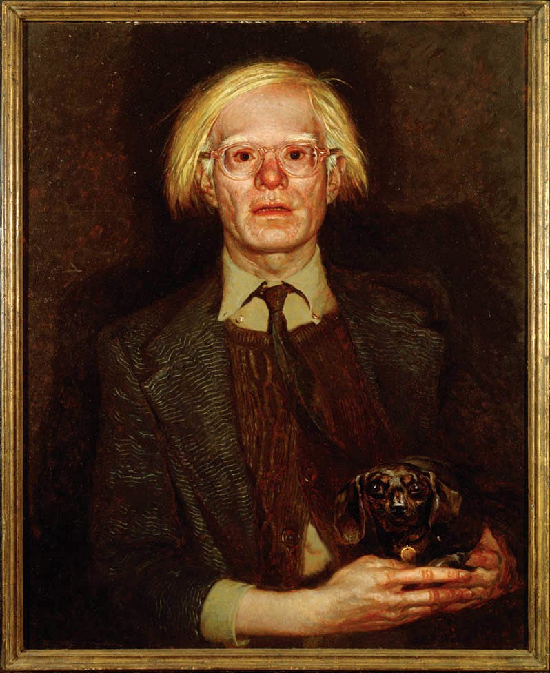 Jamie Wyeth - Portrait of Andy, 1976