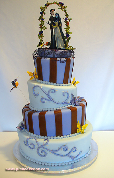 Corpse Bride wedding cake.