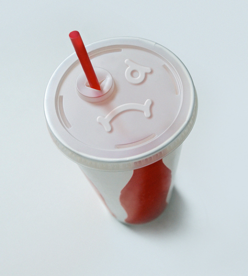 Sad cup is sad.  Cup concept by Brock Davis