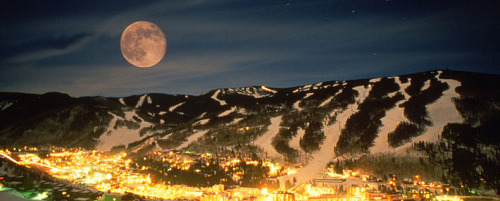 vail at night …