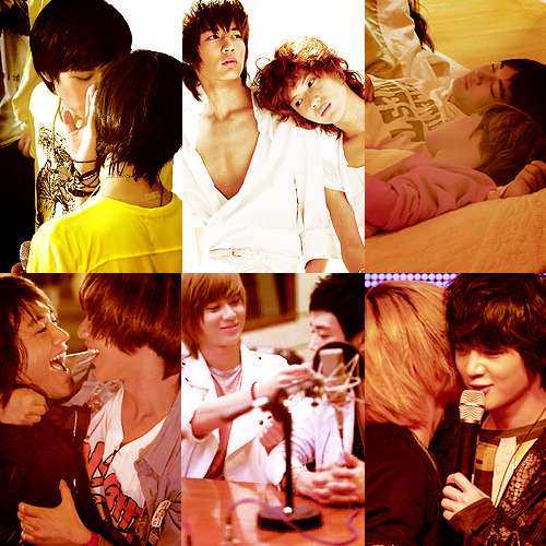 6 favorite pictures of 2min (Minho x Taemin)。{requested by sweettae}