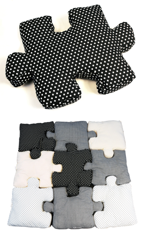 pillow puzzle by Gry Fager