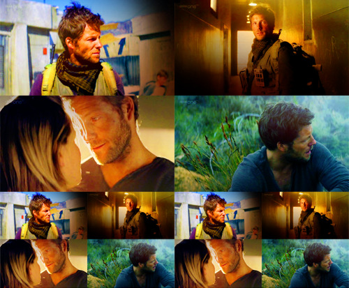 Jamie Bamber in the first episode of Outcasts that aired on BBC America last night as part of Supernatural Saturday.