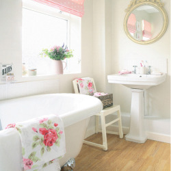 feeling a bit like a pink bathroom? This one is for you Alyce