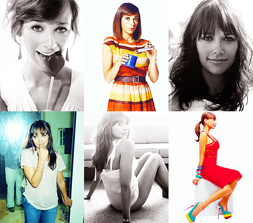 6 favorite photos → rashida jones → [suggested by sprinklesincluded]