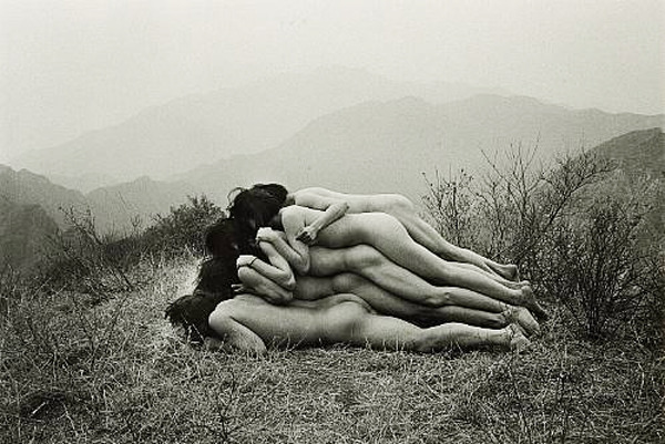 Zhang Huan - To Add One Meter to an Anonymous Mountain
