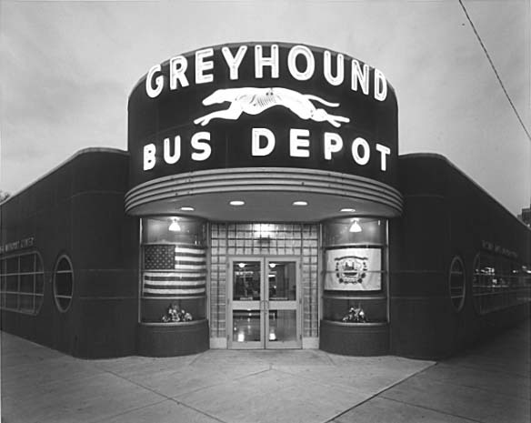 Timothy Rice - Greyhound Depot, Huntington, WV