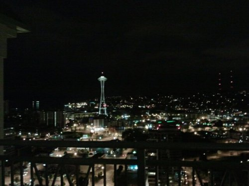fuckyeahstreetlights:  Rooftop Chillin Seattle, Wa  Miss this place.