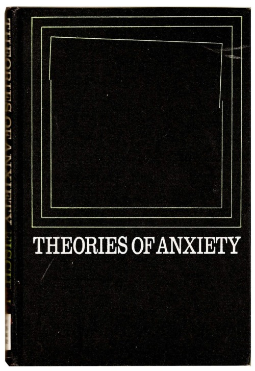 andrewharlow:  William F. Fischer  - Theories of Anxiety 1970