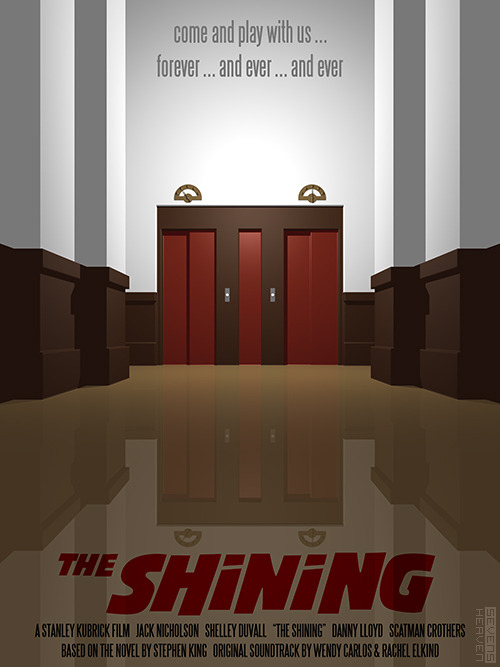 fuckyeahmovieposters:  The Shining Made and submitted by Metin Seven