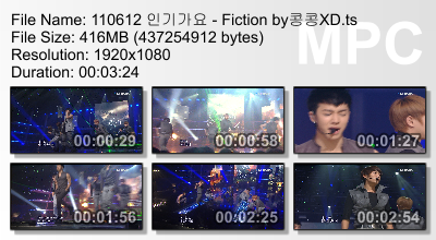 110612 Inkigayo - Fiction Megaupload Winning Cut Mediafire Cr: 콩콩XD + Yui@ beastdownloads.tumblr.com