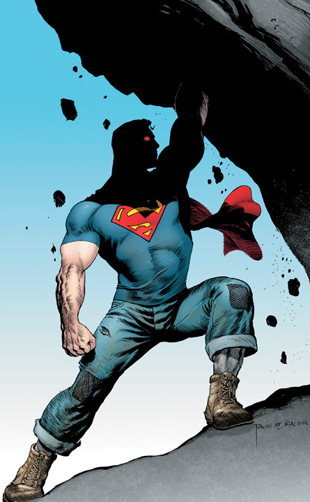 So I'm actually pretty goddamn stoked about the new Action Comics #1.  Grant Morrison and Rags Morales?  Dream team.
