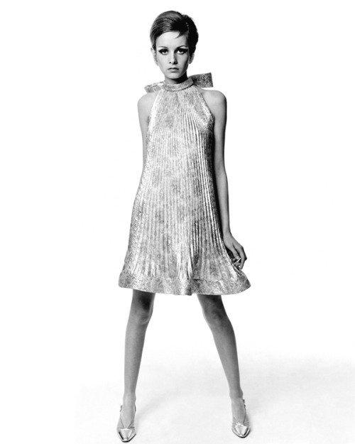 Twiggy for Vogue US