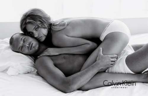 Natalia Vodianova for Calvin Klein (with Fredrik Ljungberg)