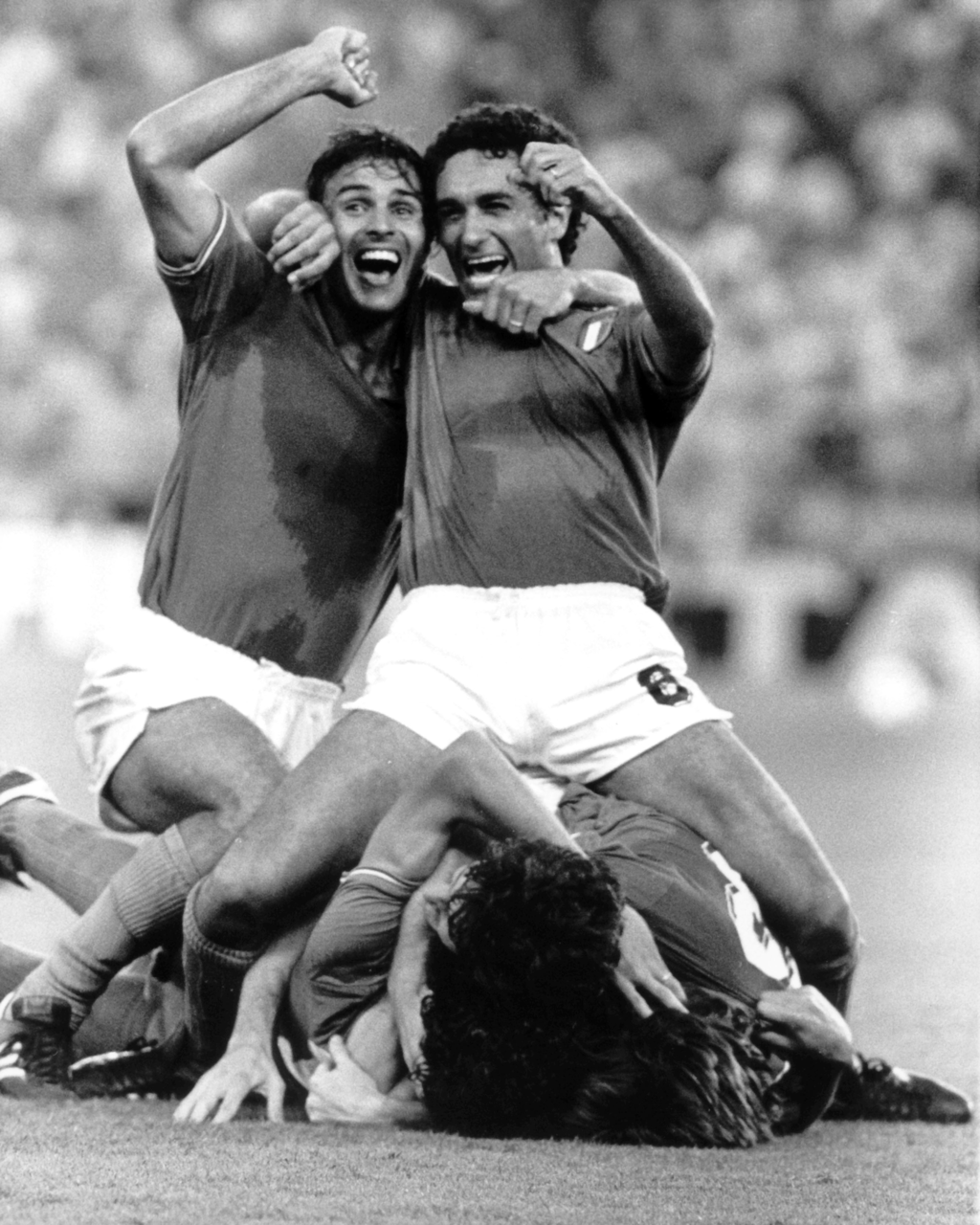After Altobelli's goal in the 1982 World Cup final.