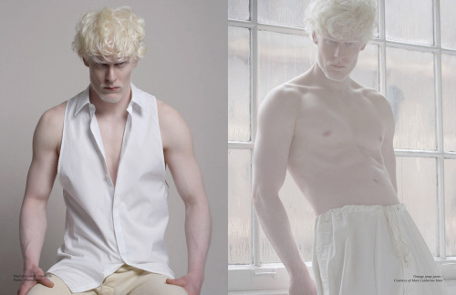 moagb:  Stephen Thompson(Major) shot by Christos Karantzolas for Schon Magazine.  The editorial was entitled White Out.