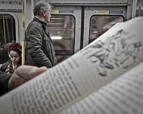 readinginmotion:  People-reading (by Sven Loach on a break- laptop died :()