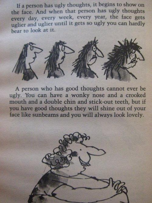 Roald Dahl, I tip my hat to you sir.