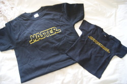 "Father's Day Gift.  ""Master & Apprentice"" Star Wars T-Shirts.  :)"