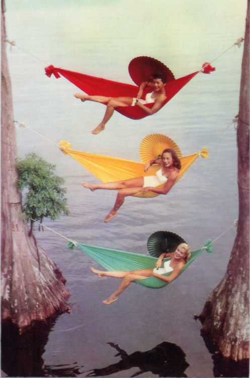 sunsurfer:  Vintage Promotional Photo, Cypress Gardens, Florida  photo via uggi177