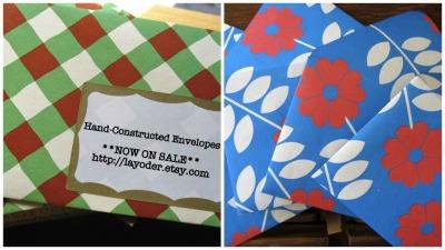 #etsy, #envelopes, #summer, #sale