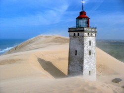 lighthouse: Rubjerg Fyr, Denmark Source: Augen Blicke