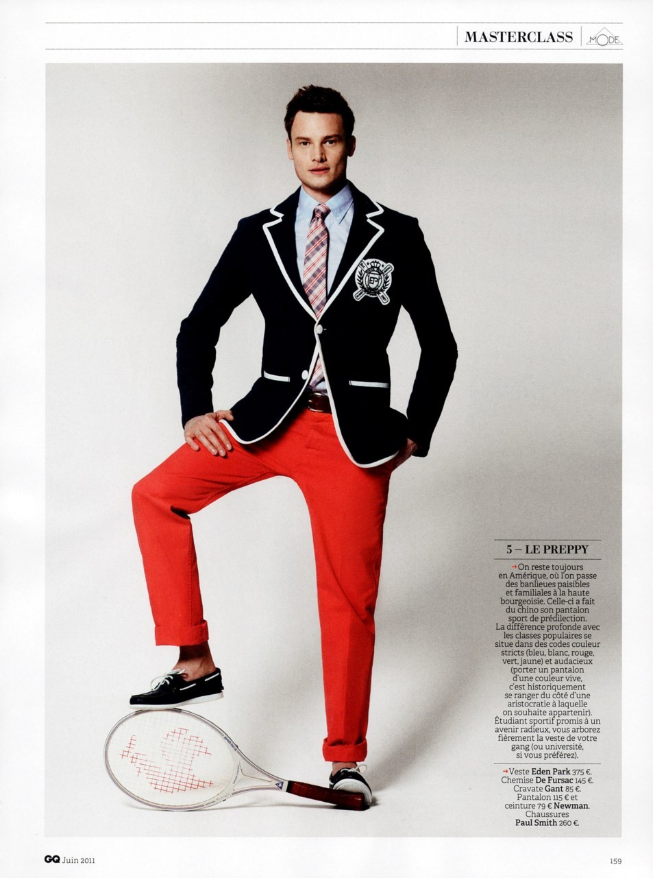 GQ France - may 2011 - Le chino en 10 leçons (The chino in 10 lessons)