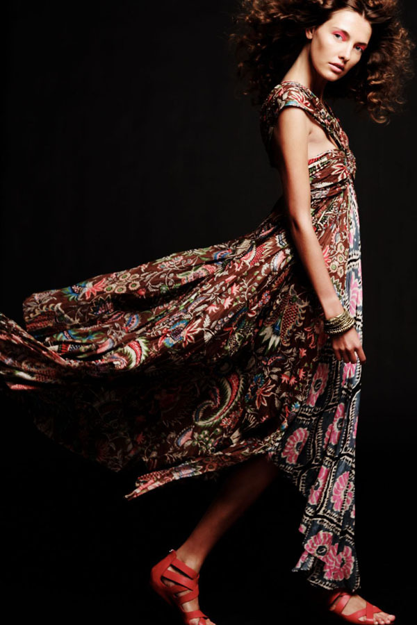 Love the hippie chic styles….(via Free People May 2011 Lookbook - My Face Hunter)