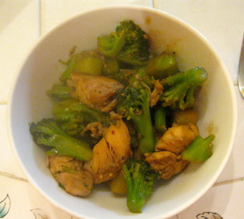 Take out Chicken and Broccoli Stir Fry :) Easy, simple, and delicious! Find the recipe here on my blog!