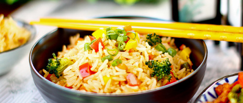 foodiebooty:  Vegan Vegetable Fried Rice