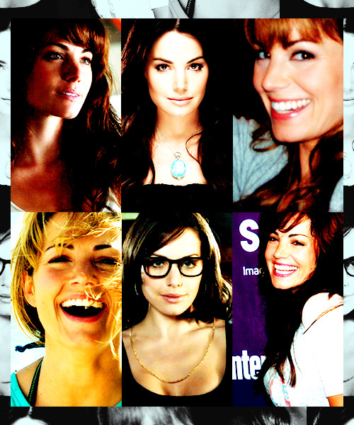 Six favorite pictures: Erica Durance || asked by noembra